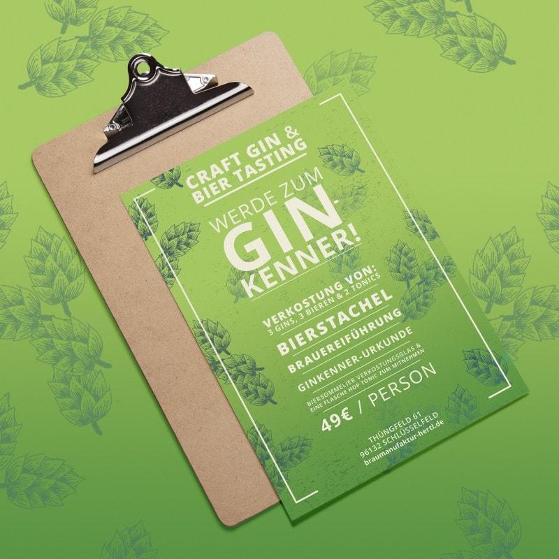 Gin Seminar Gutschein