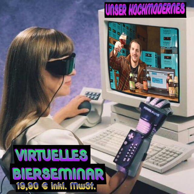 Virtuelles Bierseminar Gutschein